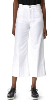 Укороченные широкие брюки Stella Mc Cartney