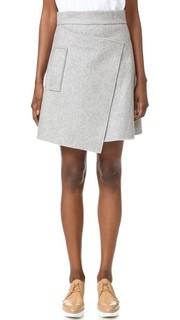 Фетровая юбка Carven