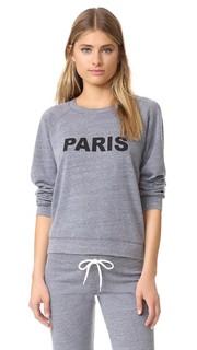 Меланжевая винтажная толстовка Paris Monrow