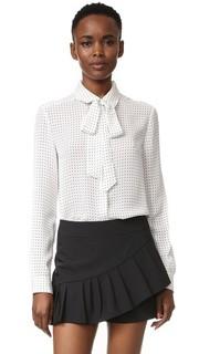 Блуза с принтом Estrella Tibi