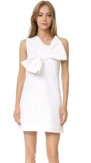Платье с перекрученным бантом Victoria Victoria Beckham