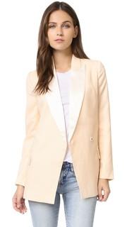 Приталенная блуза-пиджак в стиле смокинга Blaque Label