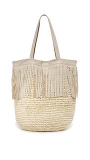 Объемная сумка с короткими ручками Palms Cleobella