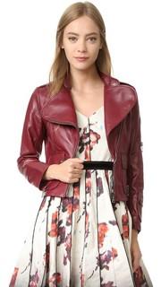 Куртка из кожи ягненка Marc Jacobs