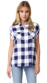 Рубашка на пуговицах Britt с короткими рукавами Rails