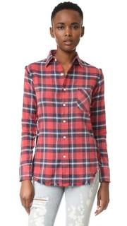 Облегающая рубашка Inside Out в мужском стиле R13