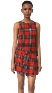 Асимметричное платье в стиле килта R13
