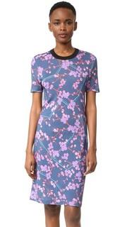 Платье-футболка с принтом Carven