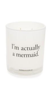 Свеча Im Actually A Mermaid Damselfly