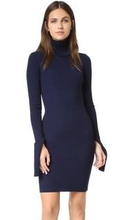 Платье с воротником под горло Jacquemus
