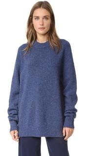 Пуловер Boyfriend из твида Tibi