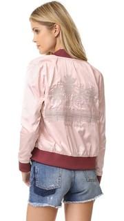 Двусторонняя атласная куртка Anine Bing