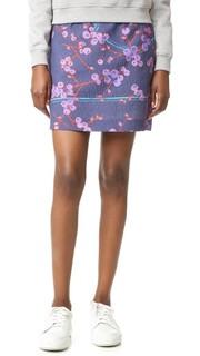 Юбка с цветочным рисунком Carven