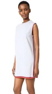 Связанное крючком платье-толстовка