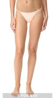 Гладкие трусики-стринги Calvin Klein Underwear