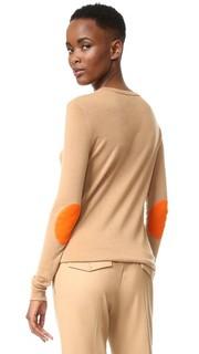Кашемировый свитер с округлым вырезом Joseph