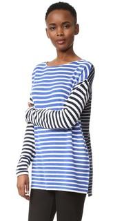 Кашемировый свитер в полоску Jenni Kayne