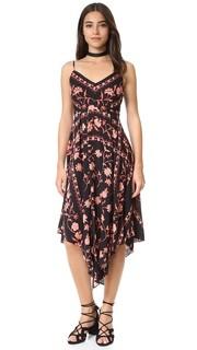 Платье-комбинация с принтом в стиле шарфа Plenty by Tracy Reese