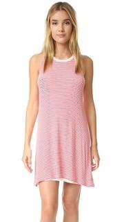 Воздушное платье в полоску Splendid
