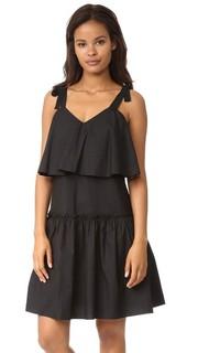 Платье из ткани English Factory