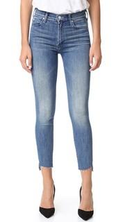 Потрепанные джинсы до щиколотки с молниями The Stunner Mother