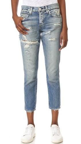 Укороченные джинсы Tomboy
