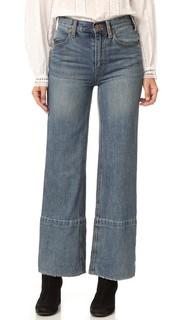 Широкие джинсы с высокой посадкой Hopkin Free People