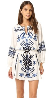 Мини-платье Anouk с вышивкой Free People