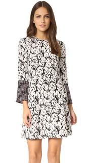 Платье с разрезами на рукавах Derek Lam 10 Crosby