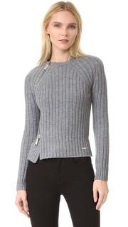 Пуловер с отделкой молнией Dsquared2