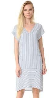 Платье в стиле восточного халата без рукавов Jenni Kayne