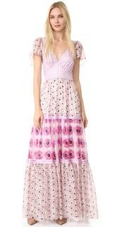 Платье с принтом Clarion Temperley London