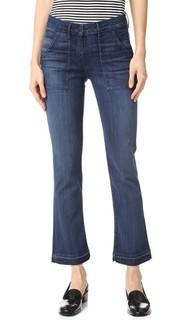 Укороченные джинсы-буткат W2 в стиле милитари 3x1
