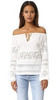 Блузка Hayley с длинными рукавами For Love & Lemons