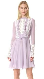 Платье с длинными рукавами Giambattista Valli