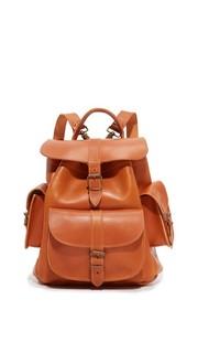 Кожаный рюкзак Grafea