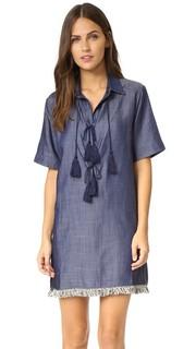 Свободное платье Lennon Line & Dot