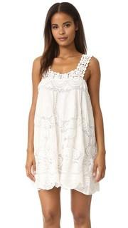 Связанное крючком платье с цветочным рисунком Love Sam