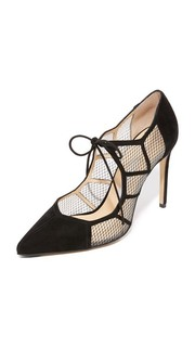 Туфли-лодочки Angelique с сетчатым кружевом Bionda Castana