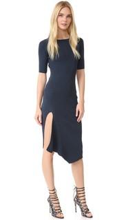 Трикотажное платье с короткими рукавами Cushnie Et Ochs