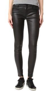 Кожаные брюки-скинни Jessica Alba No.3 Instasculpt Dl1961