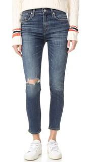 Укороченные джинсы-скинни Sophie с высокой посадкой Agolde
