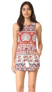 Мини-платье Tapestry с завязками Chaser