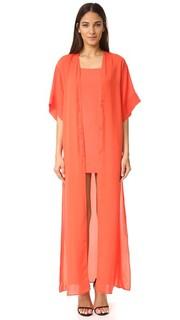 Вечернее платье в стиле кимоно Halston Heritage