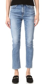 Прямые укороченные джинсы Glenn с высокой посадкой Goldsign