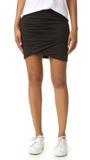Узкая юбка с запахом James Perse