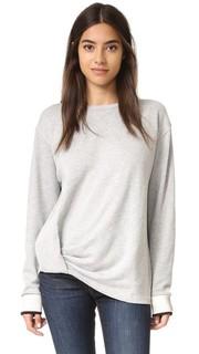 Пуловер с драпировкой и узлом Rag & Bone