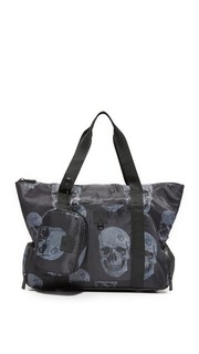 Объемная сумка с короткими ручками Terez x Go!Sac Premium