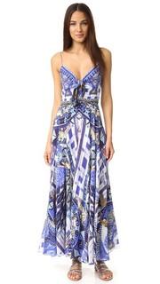 Длинное платье Rhythem & Blues с завязками спереди Camilla