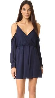Мини-платье с открытыми плечами Haute Hippie